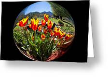 Bouquet In A Bubble Greeting Card