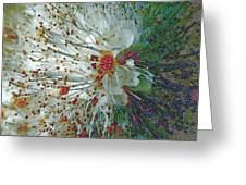 Bouquet Of Snowflakes Greeting Card