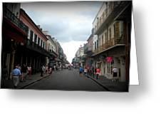 Bourbon St. Greeting Card