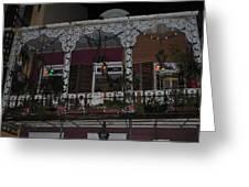 Bourbon Street Balcony Greeting Card