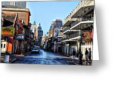 Bourbon Street By Day Greeting Card
