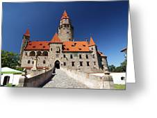 Bouzov Castle Greeting Card