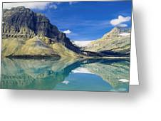 Bow Lake,alberta,canada Greeting Card