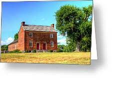 Bowen Plantation House 002 Greeting Card