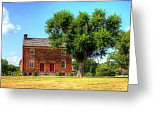 Bowen Plantation House Greeting Card by Barry Jones