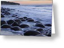 Bowling Ball Beach Greeting Card