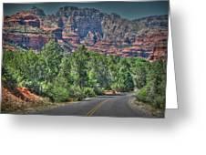 Boynton Canyon Colors Greeting Card