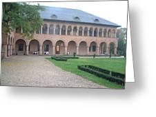 Brancovenesc Castle Romania Greeting Card