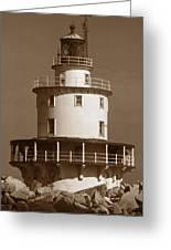 Brandywine Shoal Lighthouse Greeting Card
