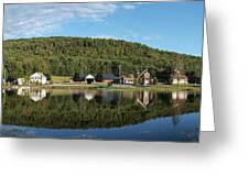 Brant Lake Reflections Greeting Card