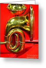 Brass Band Greeting Card