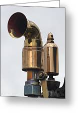Brass Horn Greeting Card