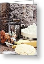 Bread Making Greeting Card