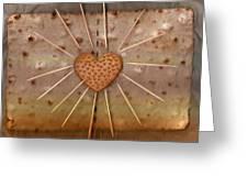 Bread  Sunshine And Love Greeting Card