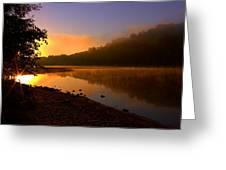 Break Of Dawn Greeting Card