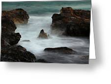 Breaking Tides Greeting Card