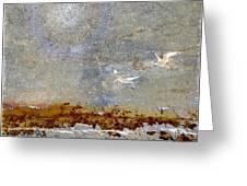 Breakwater Greeting Card by Carol Leigh