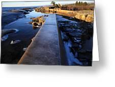 Breakwater Greeting Card