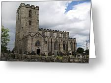 Breedon Church Greeting Card