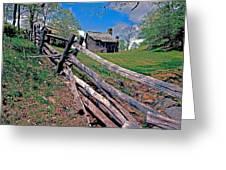 Breiniger Cabin Greeting Card