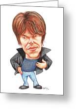 Brian Cox, Caricature Greeting Card