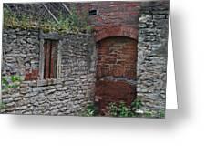 Brick And Stone England Greeting Card