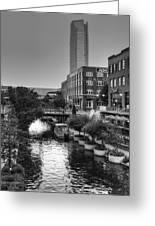 Bricktown Canal II Greeting Card