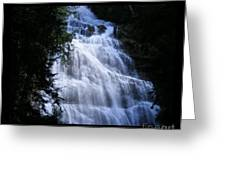 Bridal Falls B.c. Canada Two Greeting Card