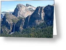 Bridalveil Greeting Card