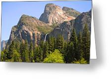 Bridalveil Falls Greeting Card