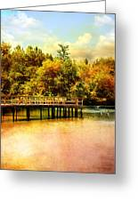 Bridge At Cypress Park Greeting Card