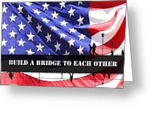 Bridge-builder Greeting Card