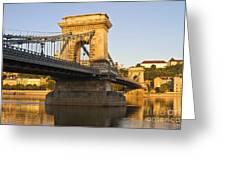 Bridge Greeting Card by David Buffington