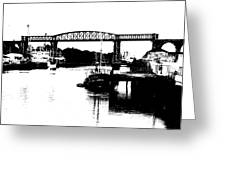 Bridge On The Boyne Greeting Card