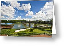 Bridge On The River Kwai Thailand Greeting Card