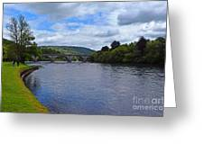 Bridge On The River Tay Greeting Card