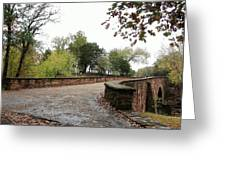 Bridge Over Bull Run Greeting Card