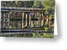 Bridge Over Ovens River 2 Greeting Card