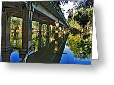 Bridge Over Ovens River Greeting Card by Kaye Menner