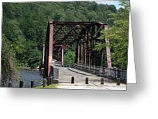 Bridge Over Southern Waters Greeting Card