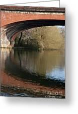 Bridge Reflections Greeting Card