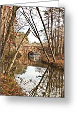 Bridge Reflections Greeting Card