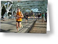 Bridge Runner Greeting Card