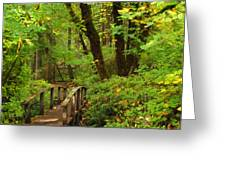 Bridge To A Fairytale Greeting Card