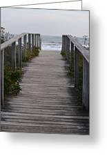 Bridge To Eternity Greeting Card
