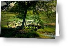 Bridge To Heaven Greeting Card
