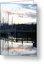 Bridge To The Future Greeting Card