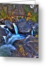 Bridge To The Seasons Greeting Card