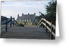 Bridge To Whalehead Greeting Card