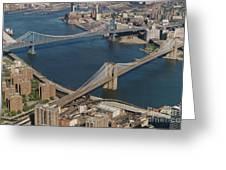 Bridges Of New York City Greeting Card